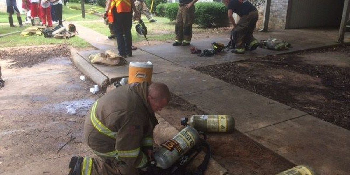 Gunshots send Texarkana, AR, firefighters ducking for cover