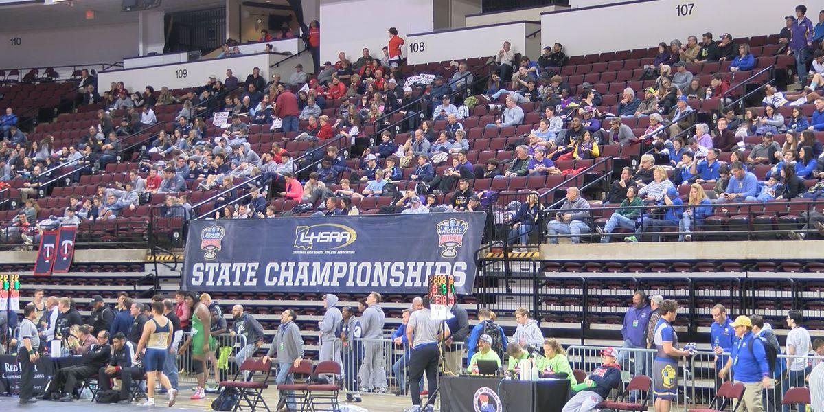 2019 LHSAA State Wrestling Championships creates economic boost for Shreveport-Bossier City