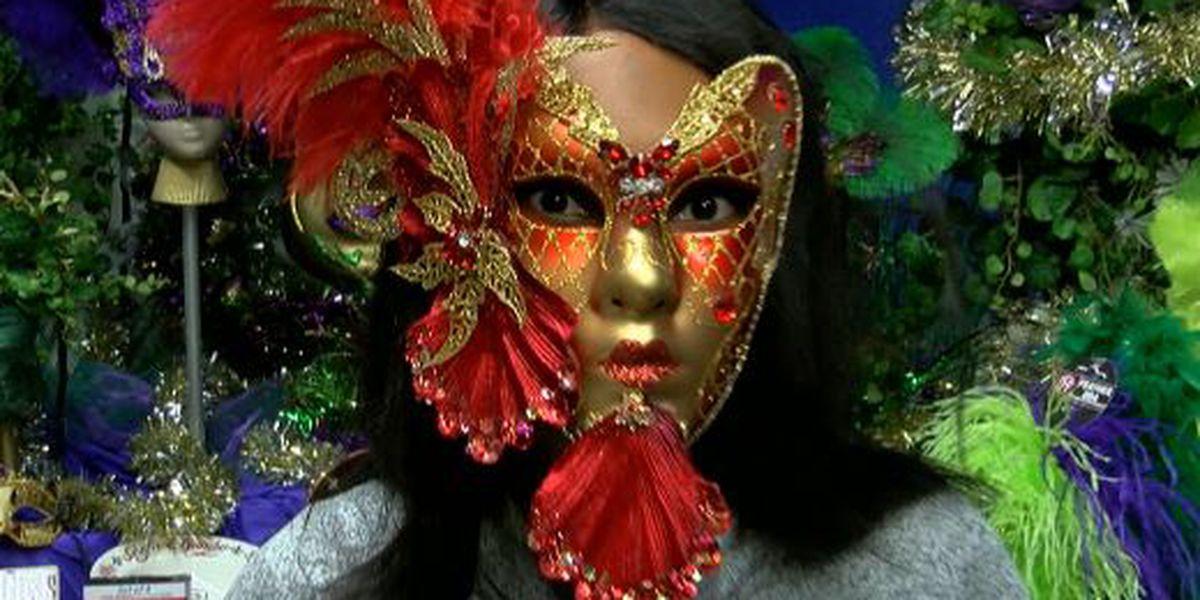 Maranda at Work: Making Mardi Gras Masks