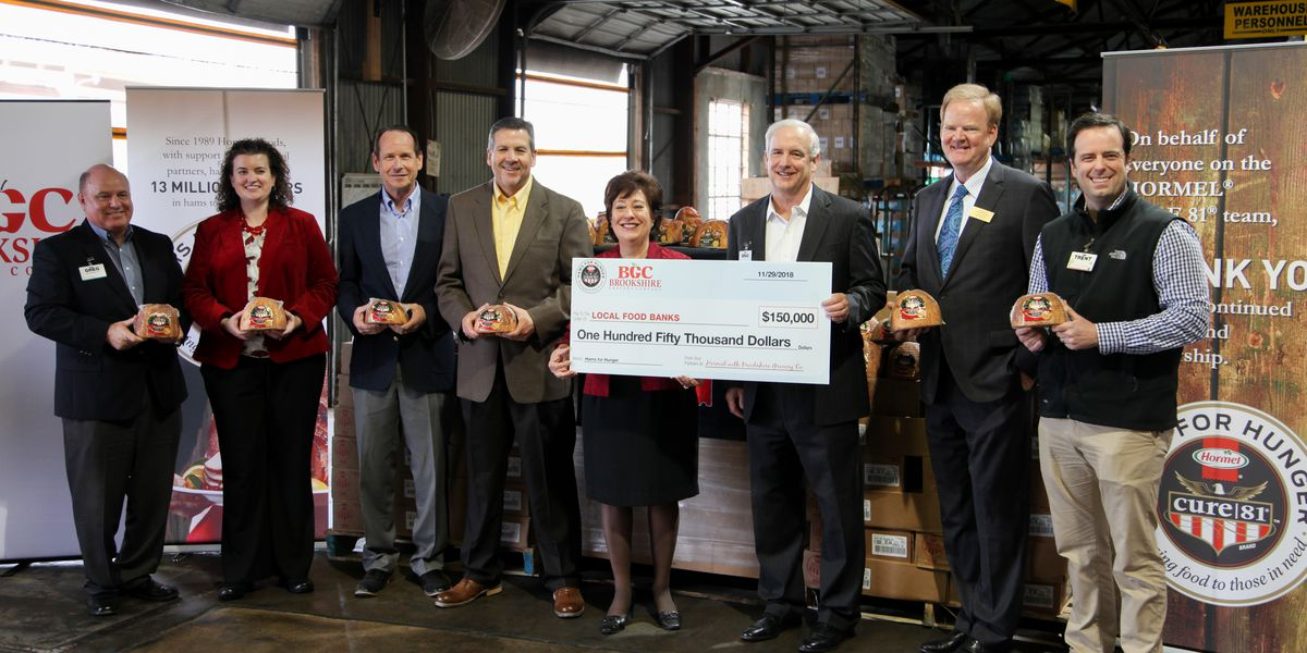 Hormel Foods, Brookshire's bring 'Hams For Hunger' to NWLA Food Bank