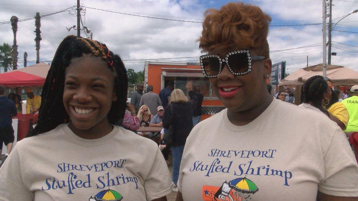 Families celebrate Mother's Day at Shreveport Stuffed Shrimp Festival