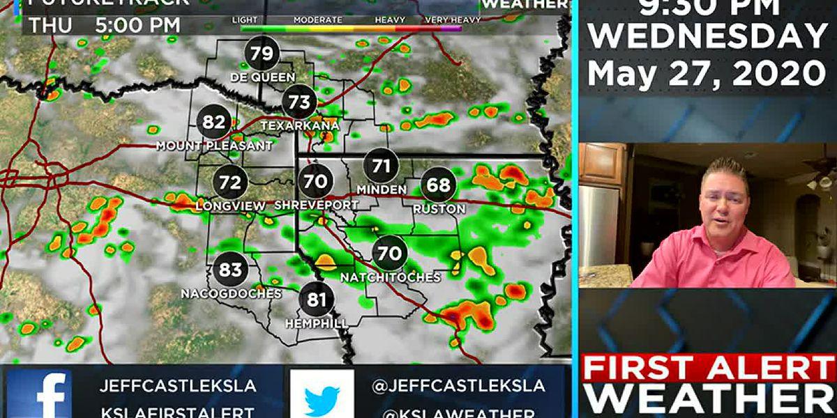 ArkLaTex weather begins to change after Thursday
