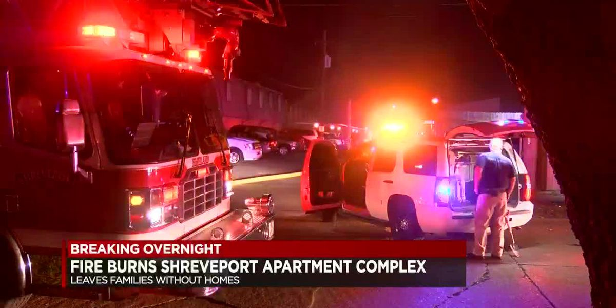 Fire damages Anderson Island apartment complex