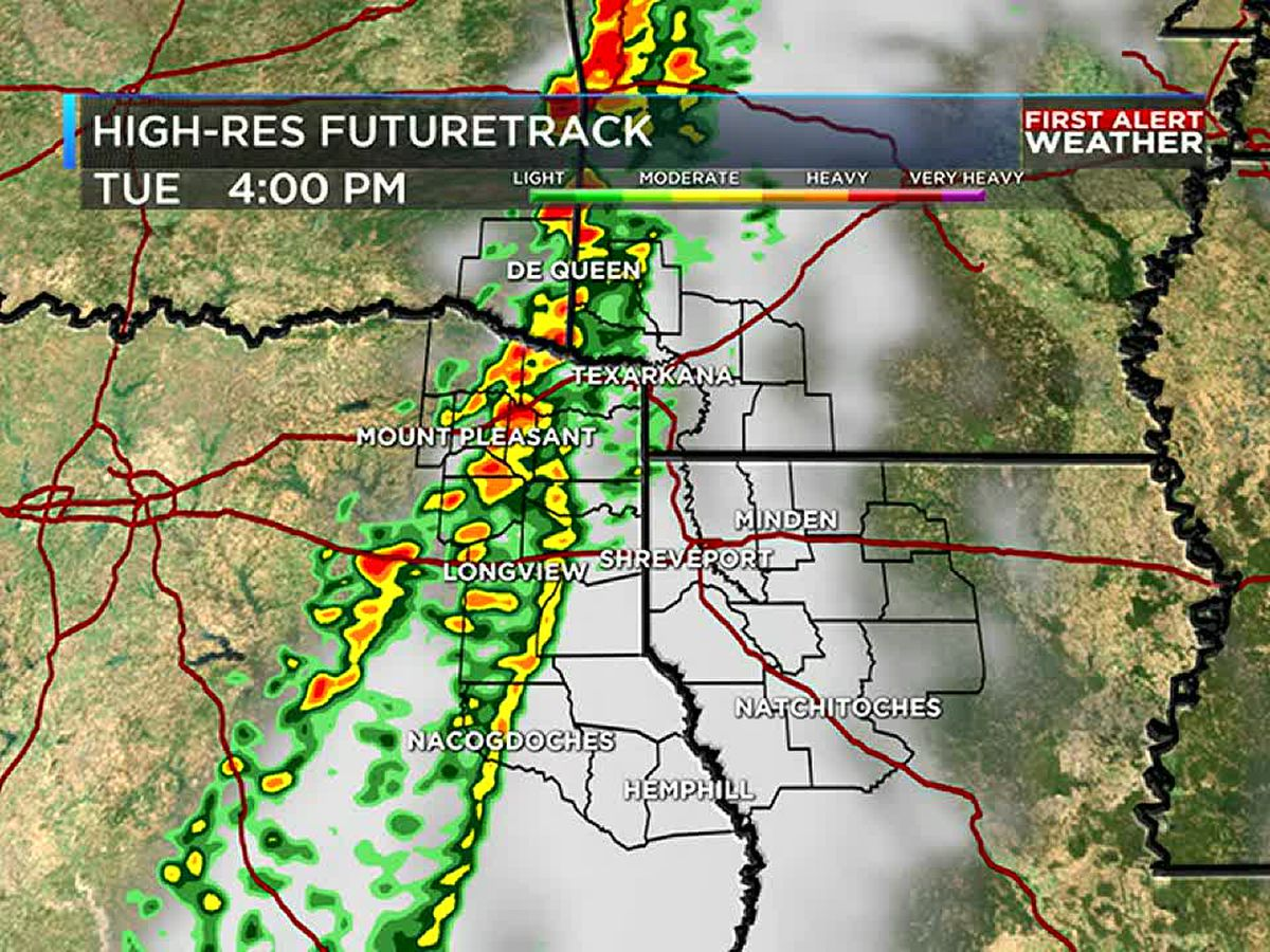 FIRST ALERT: Severe weather possible on Tuesday