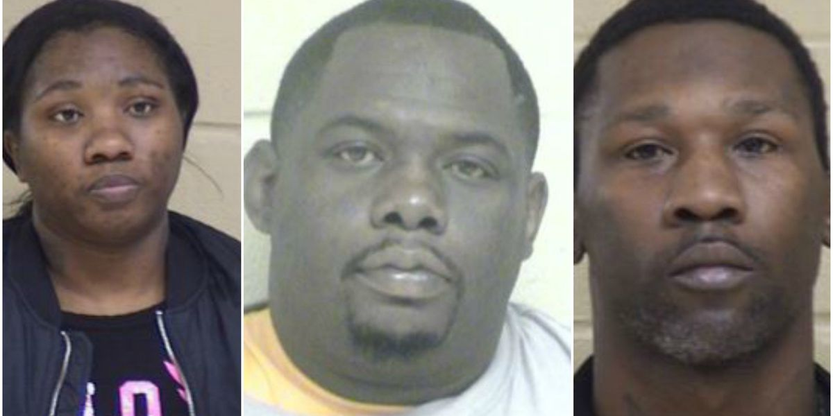3 accused of stealing $11 thousand worth of merchandise