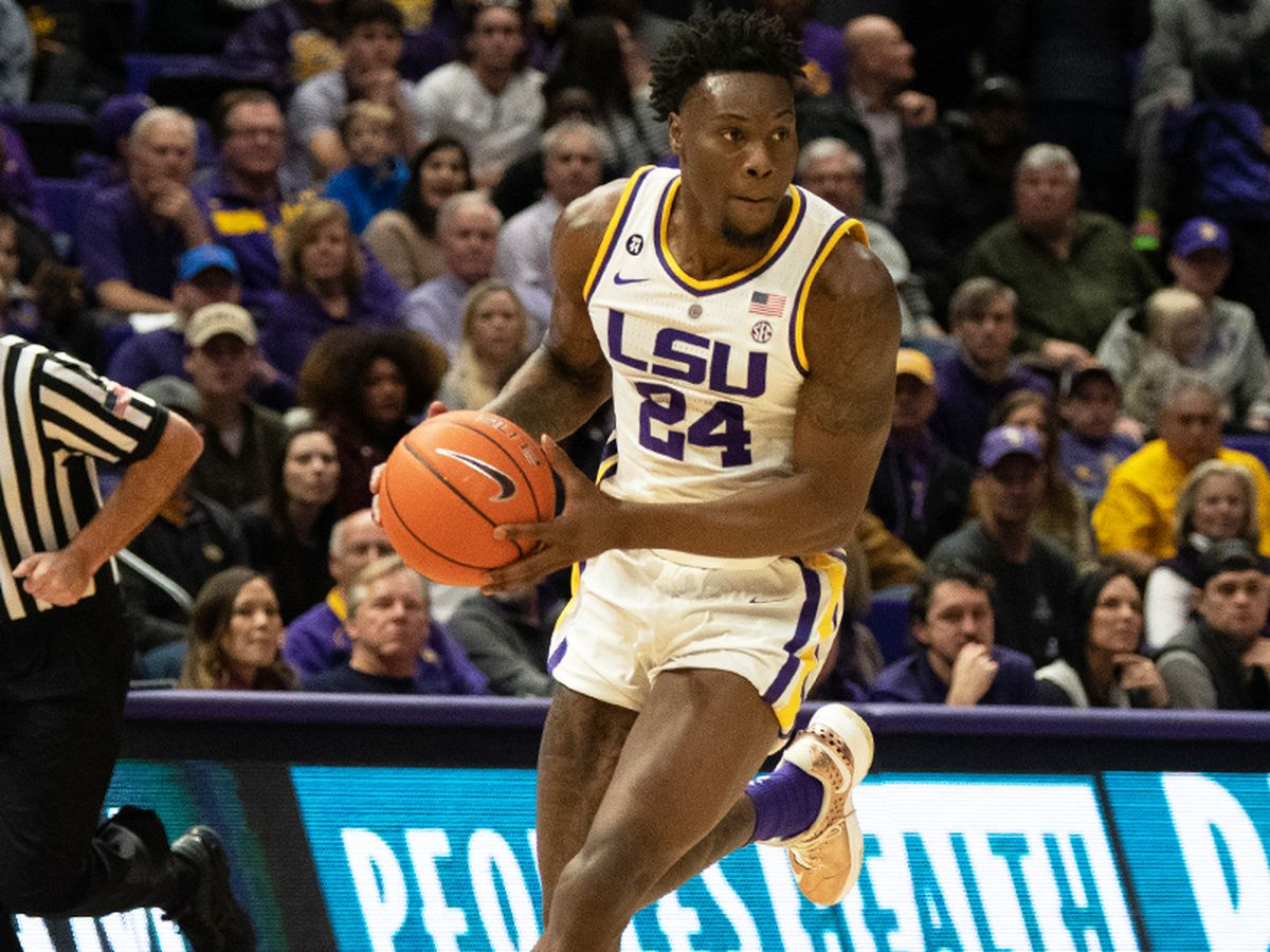 LSU freshman forward Emmitt Williams declares for the NBA Draft