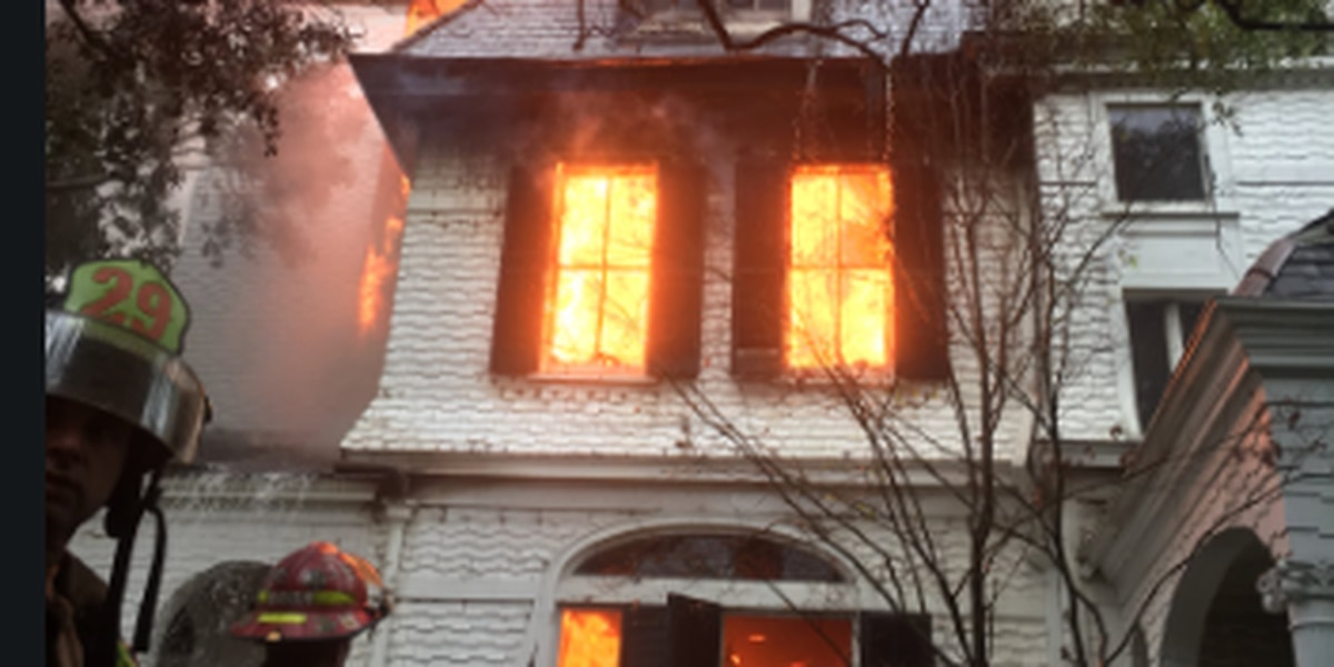 NOFD: 7-alarm fire at historic home still not under control
