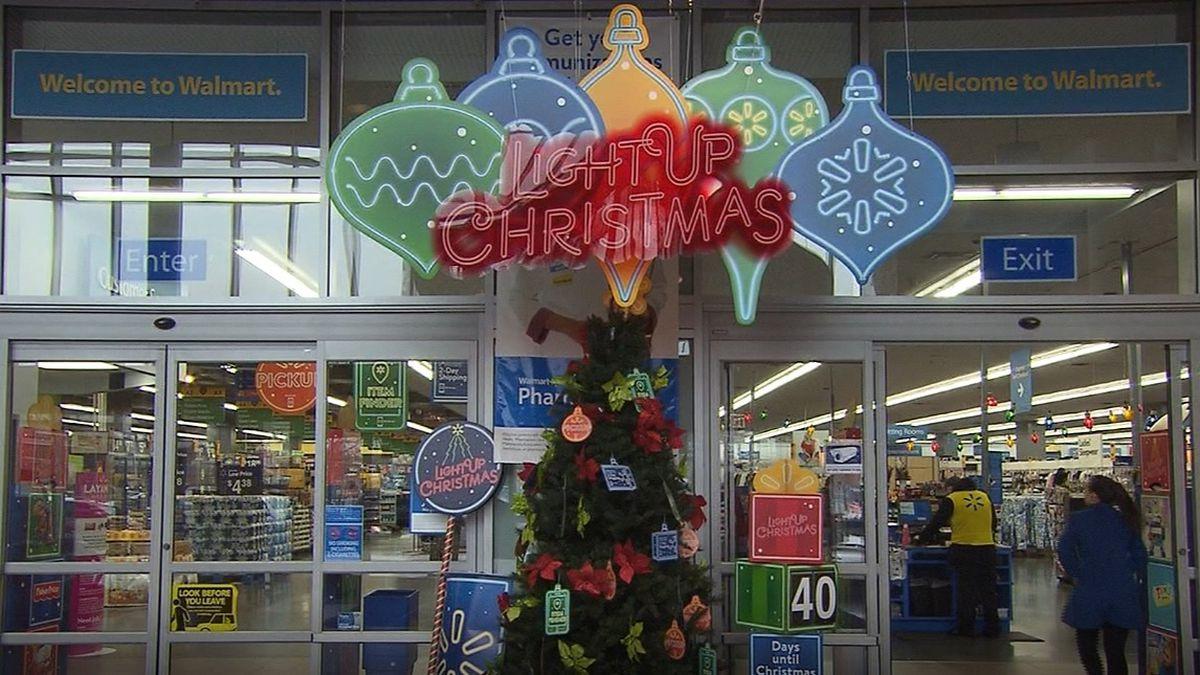 Holiday shopping season starts Friday at Walmart