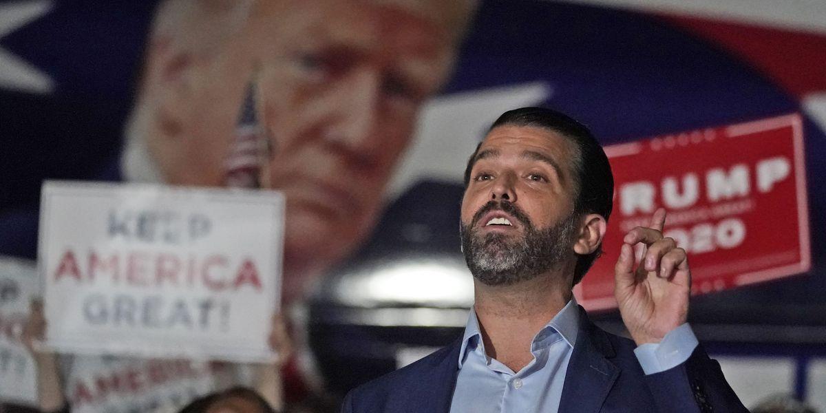 Spokesman: Trump's son Don Jr. tests positive for coronavirus