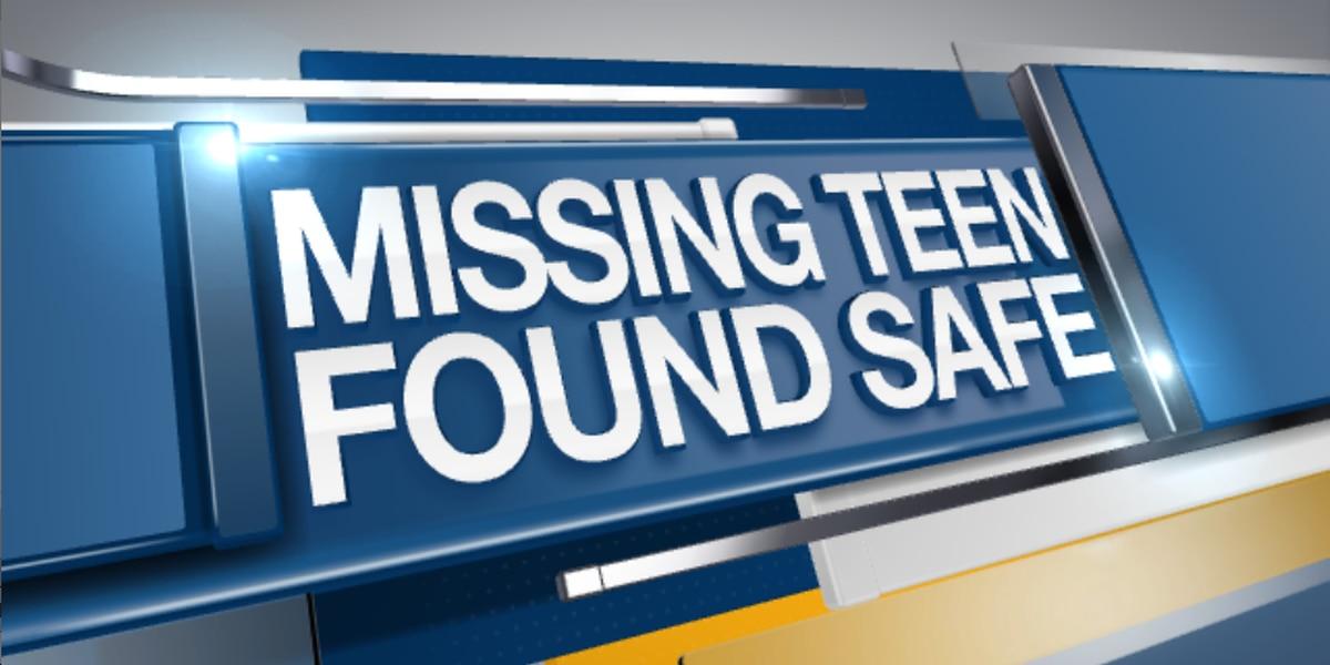 FOUND: Missing Haughton teen found safe