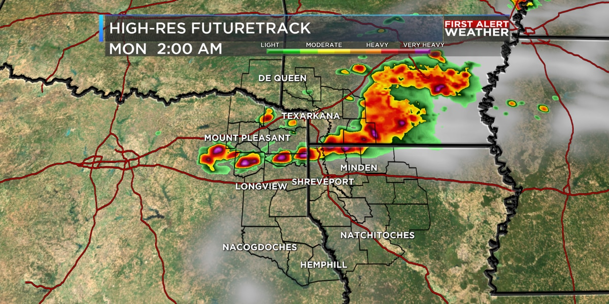 FIRST ALERT: Strong to severe storms move in tonight