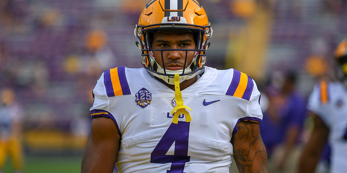 Former LSU RB Nick Brossette talks candidly about family tragedy, football struggles, and enjoying the moment