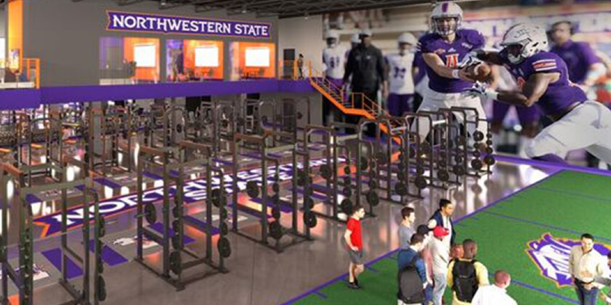NSU unveils plans for $3.4 million strength and conditioning facility