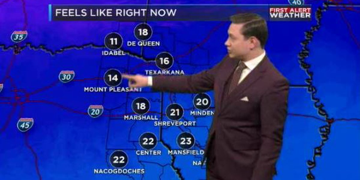 First Alert: Near-record cold temperatures on the way