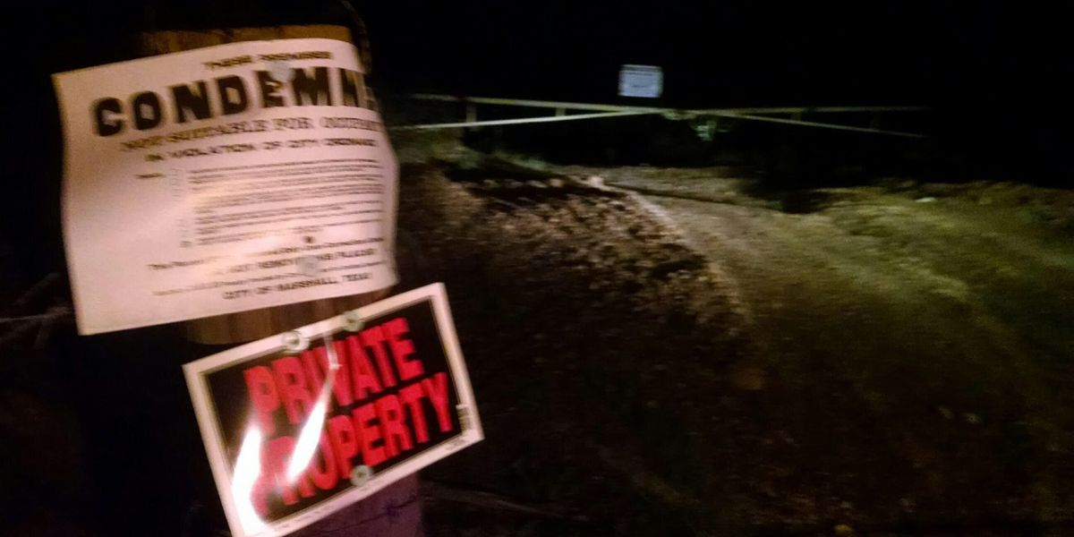 Marshall, TX, police warn people to stay out of clay pits
