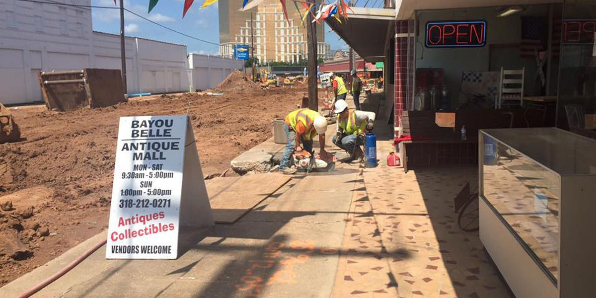 Some Downtown Bossier residents face hardships during construction