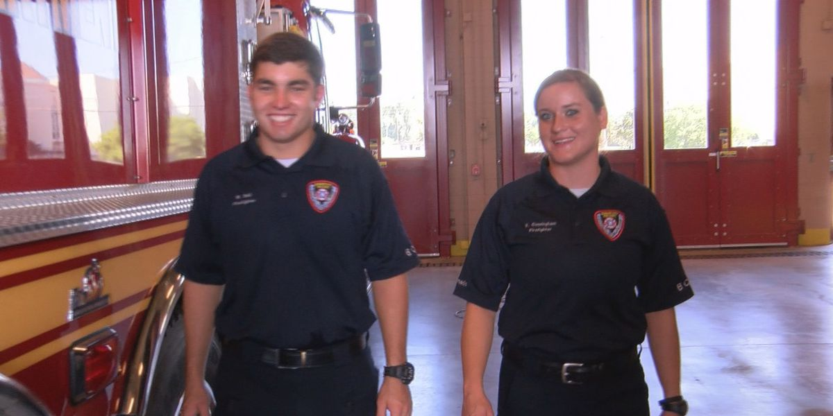 BCFD recruits fight for top spot in class and make history
