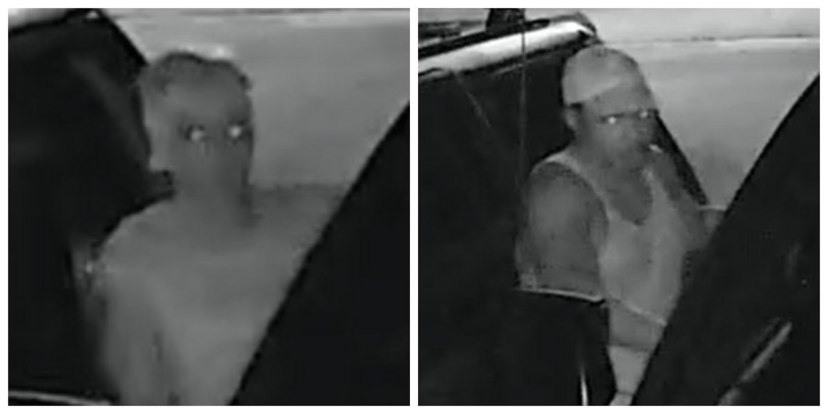 Man and woman wanted for vehicle burglaries