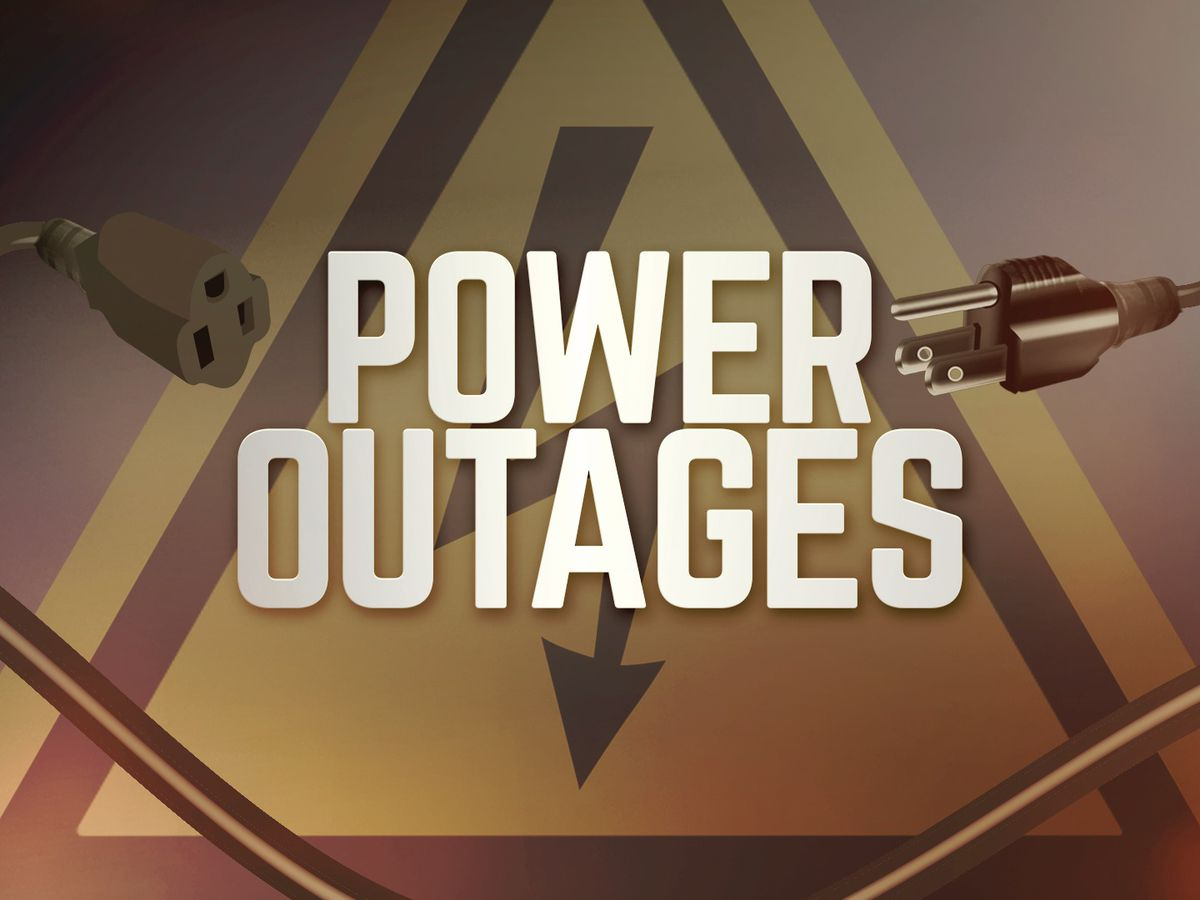 Power outages impact thousands