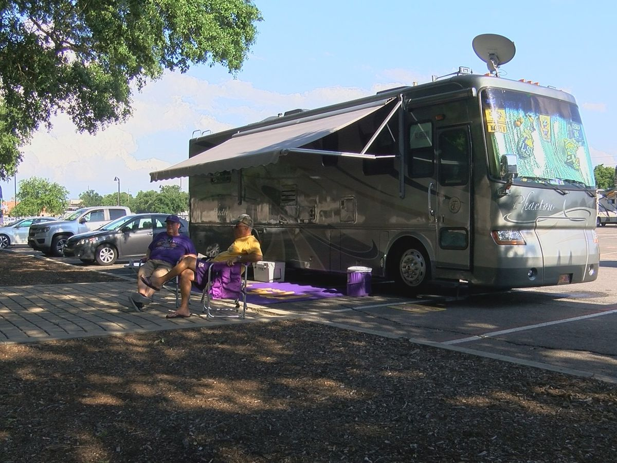 LSU set to allow limited tailgating at spring outdoor sporting events