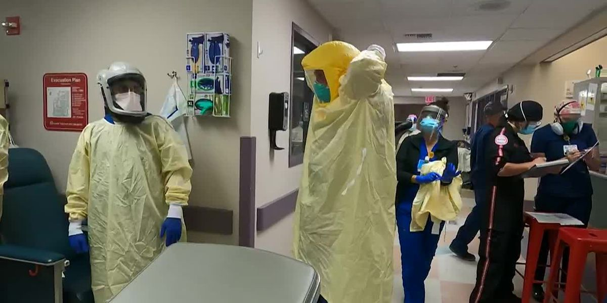 The latest surge of COVID-19 cases has pushed the U.S. to heights not seen since the pandemic began