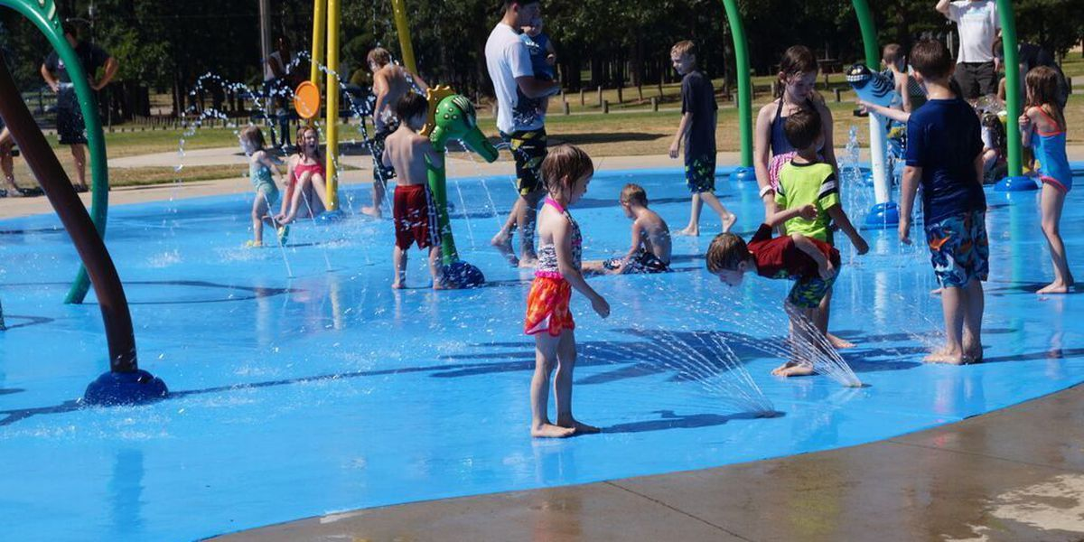 ArkLaTex prepares for summer with open dates for splash pads, pools