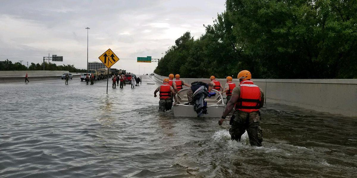 Texarkana, TX, firefighters join Harvey rescue, relief efforts