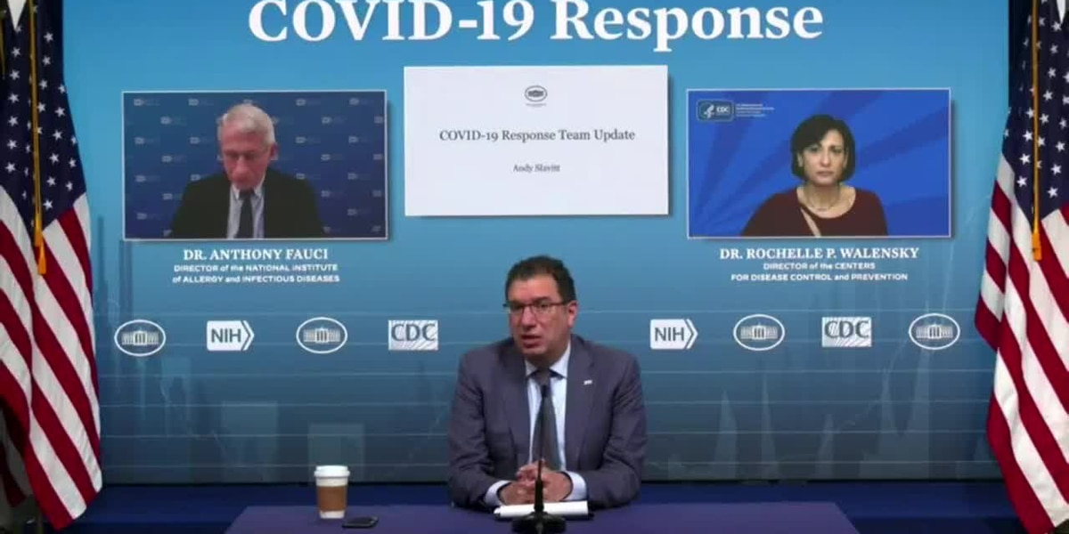 LIVE: White House COVID-19 response team gives press briefing
