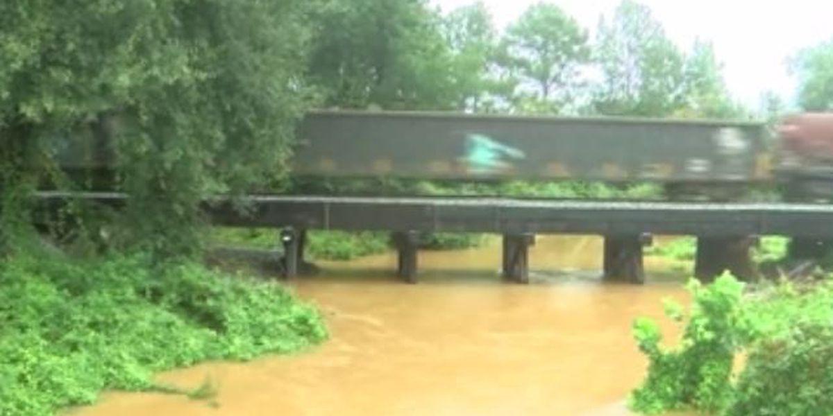 Bienville floodwaters receding