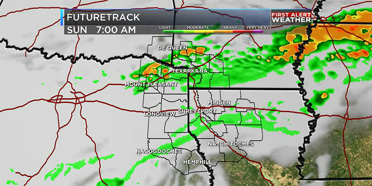 Unsettled weather pattern keeps daily rain chances