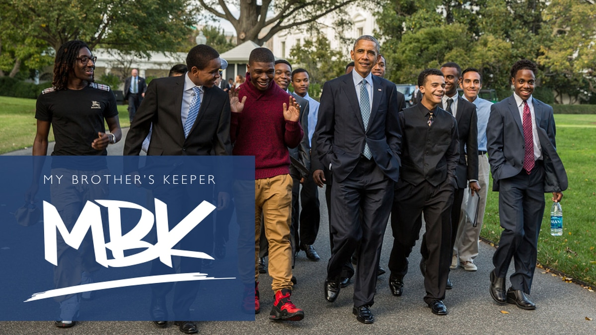 Mayor Perkins accepts My Brother's Keeper challenge to address opportunity gaps faced by boys, young men of color