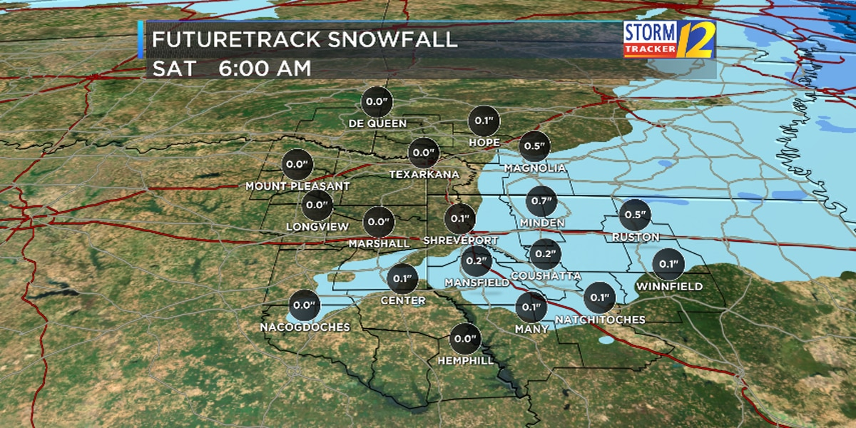 Mix of sleet and snow expected Thursday night