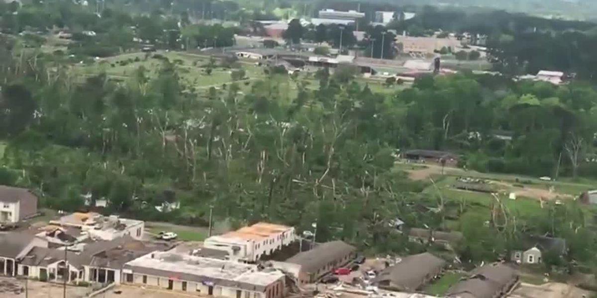 Trump approves federal disaster declaration for tornado-stricken parishes