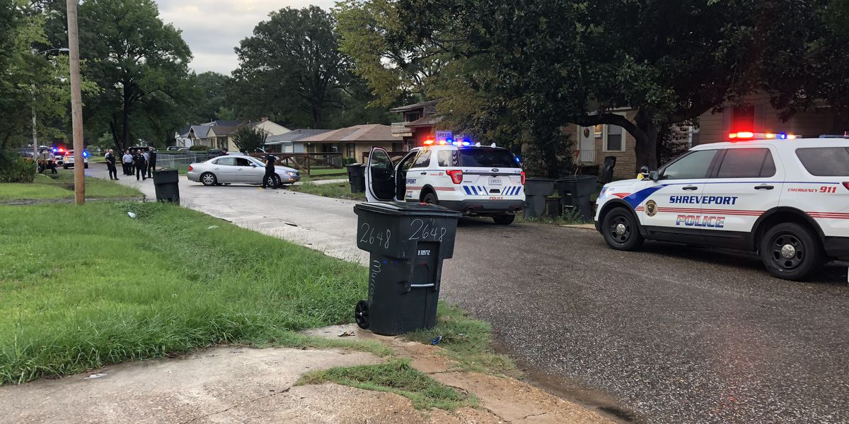 2 wounded when someone gets out of car, starts shooting at house