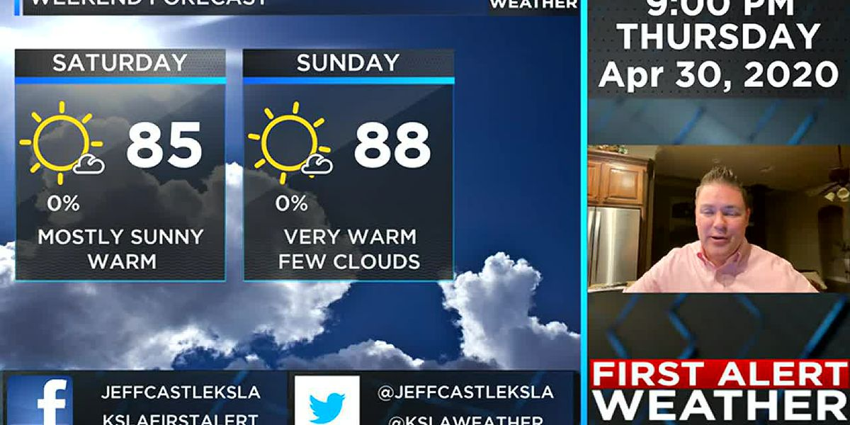 More fantastic weather through the weekend