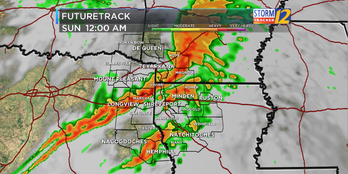 FIRST ALERT: Rain and a few strong storms expected this weekend