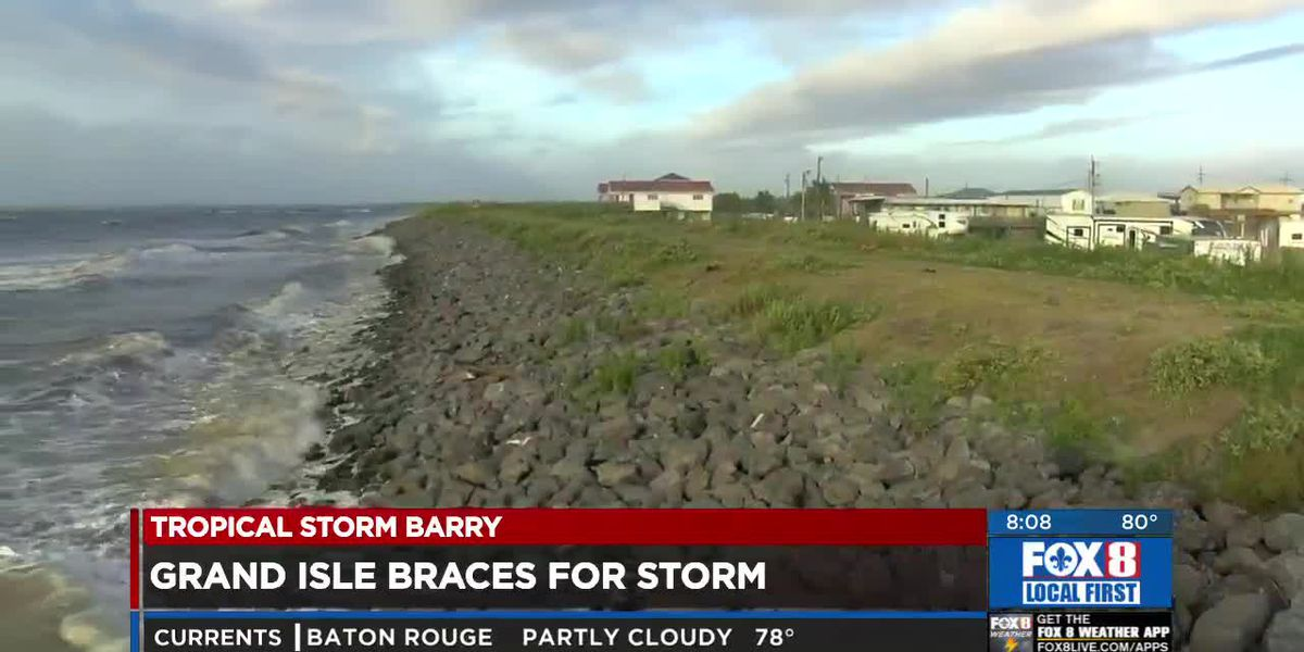 Grand Isle braces for Tropical Storm Barry