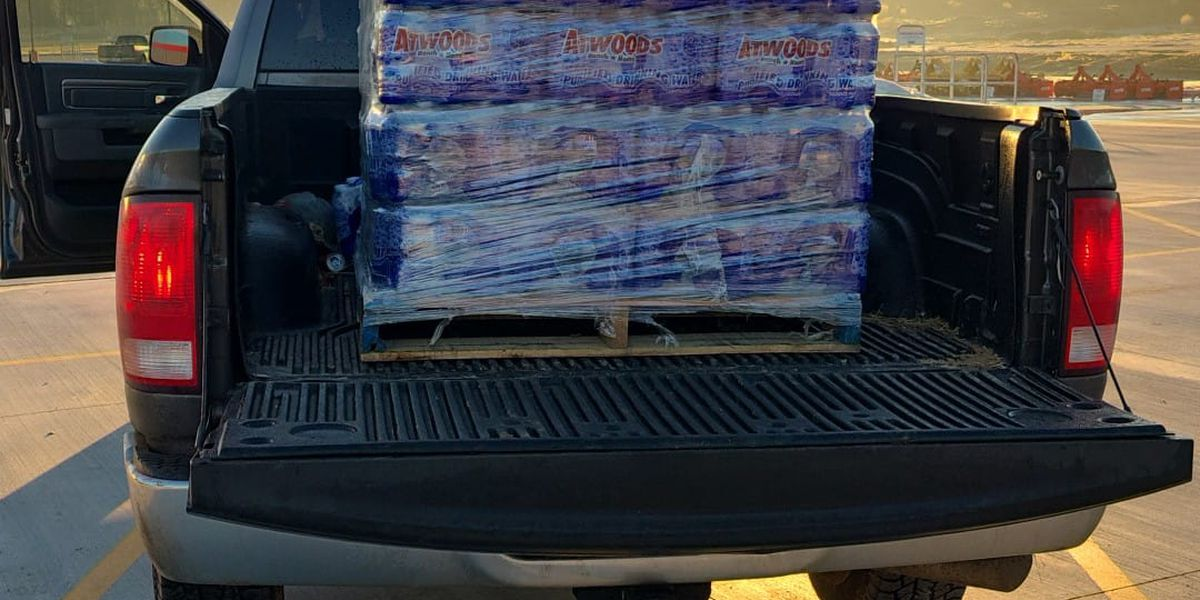 East Texas man on a family mission delivering water across Cass County