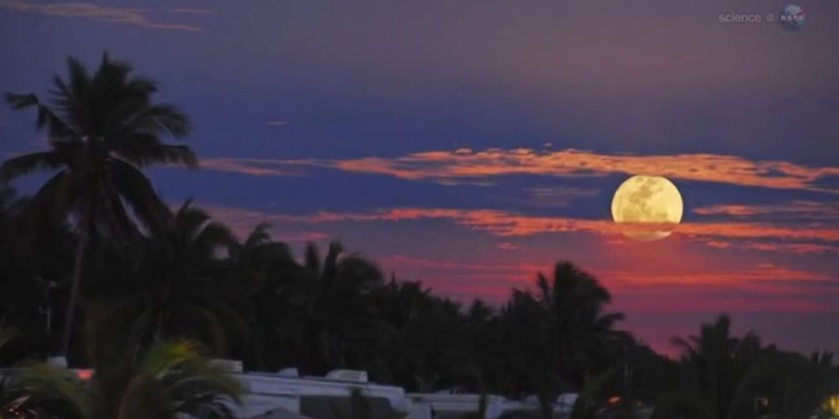 """May """"Super Moon"""" expected to be bigger, brighter"""