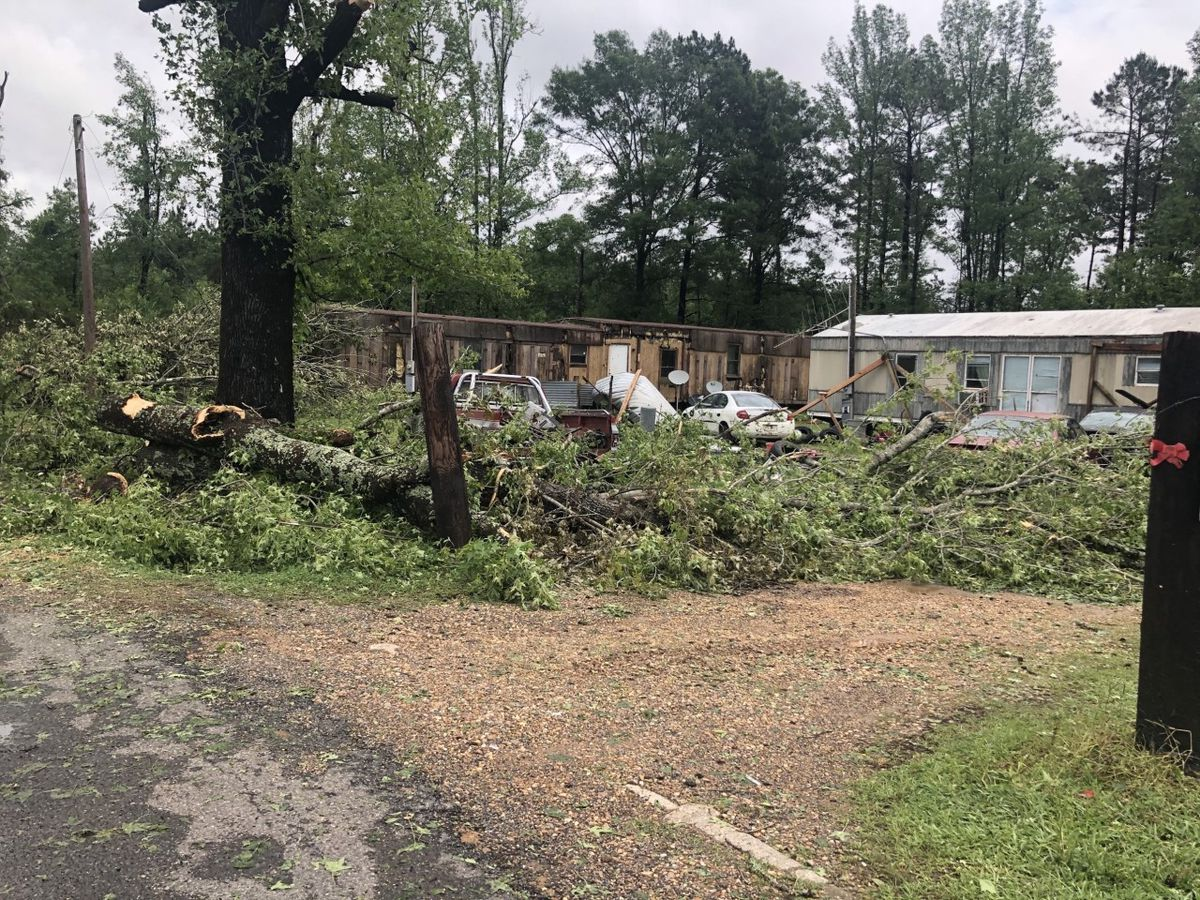 Red River Parish recovering from tornado damage