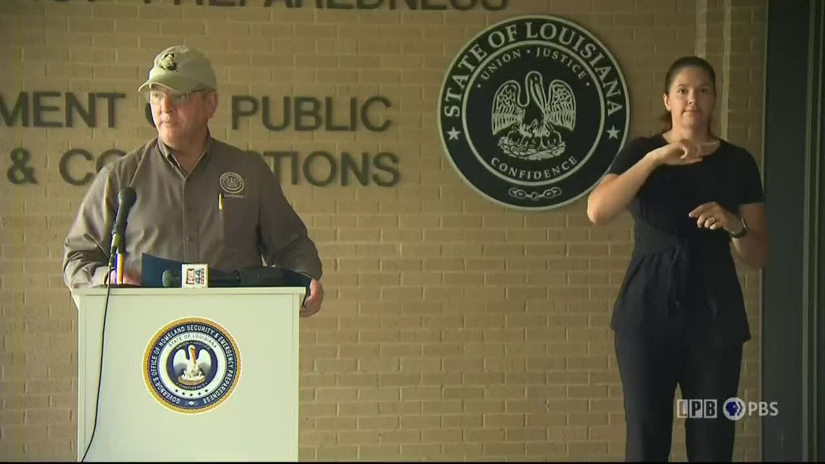 WATCH: Gov. Edwards news conference on state's response to Hurricane Delta