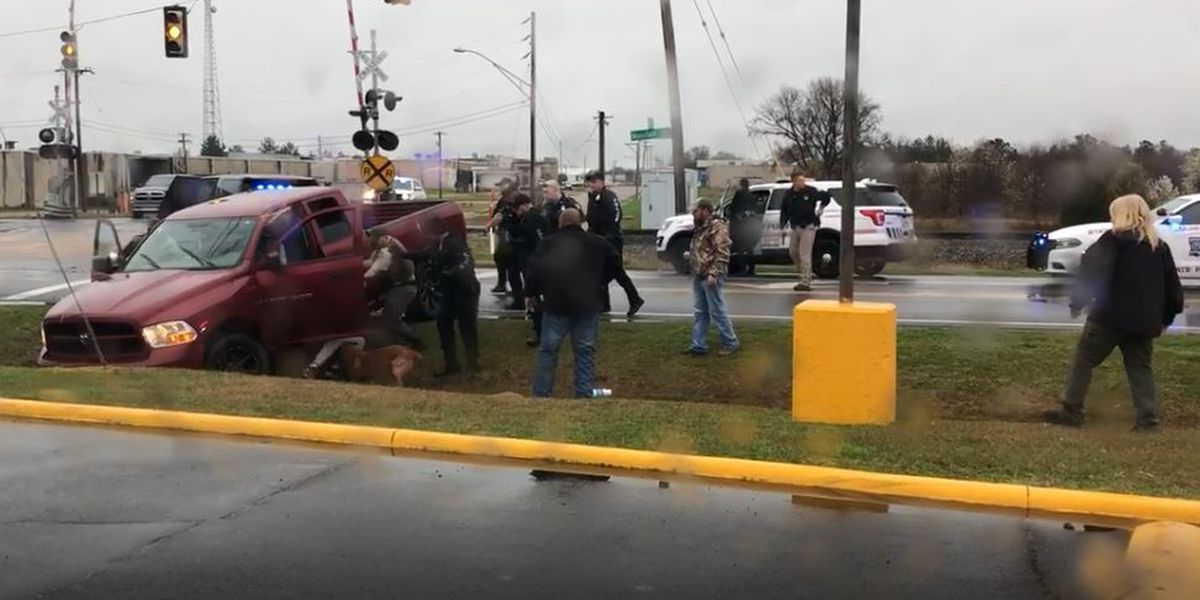 Motorist leads authorities on chase in DeSoto, Caddo parishes