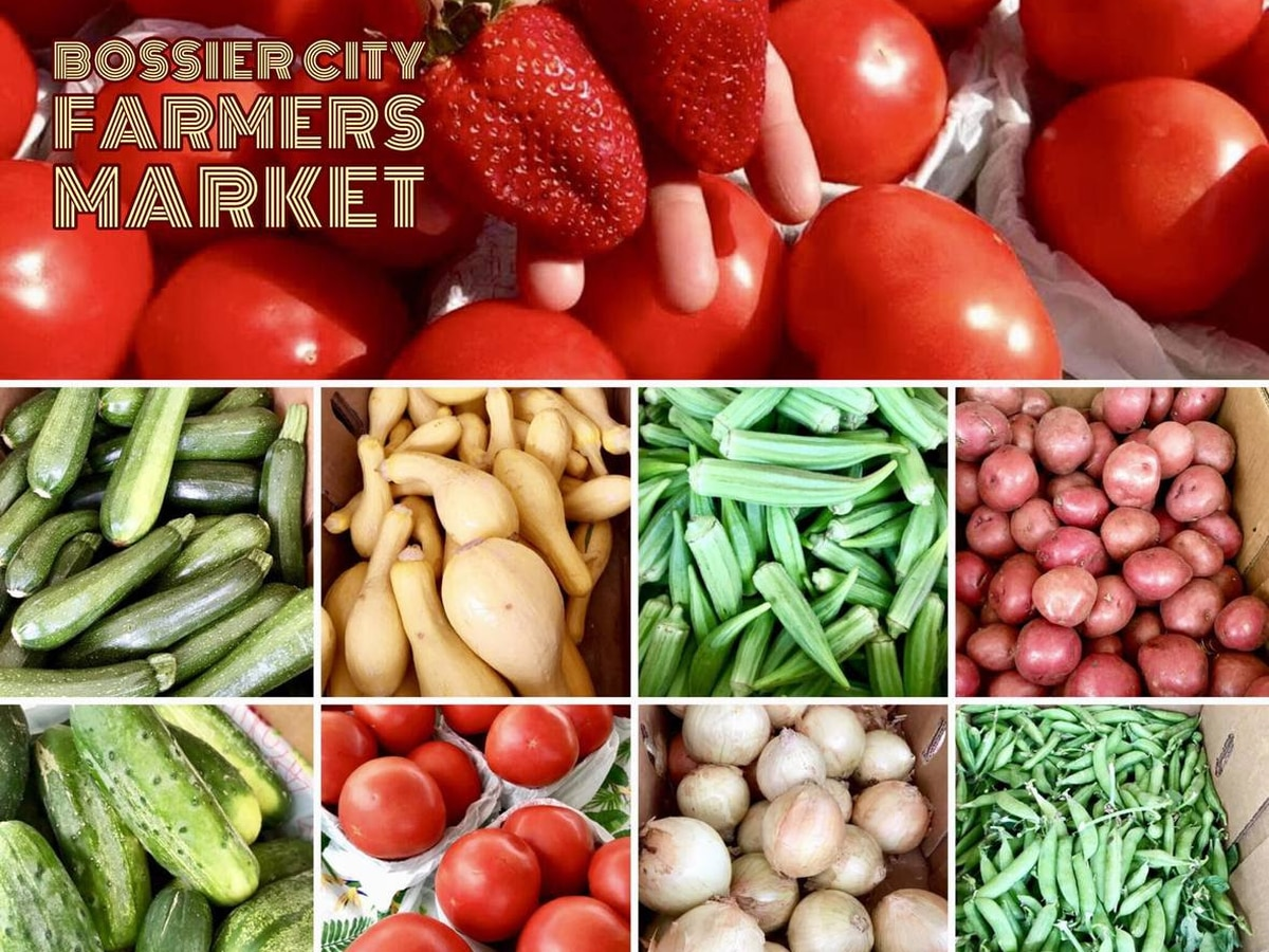 Bossier City Farmers Market is open