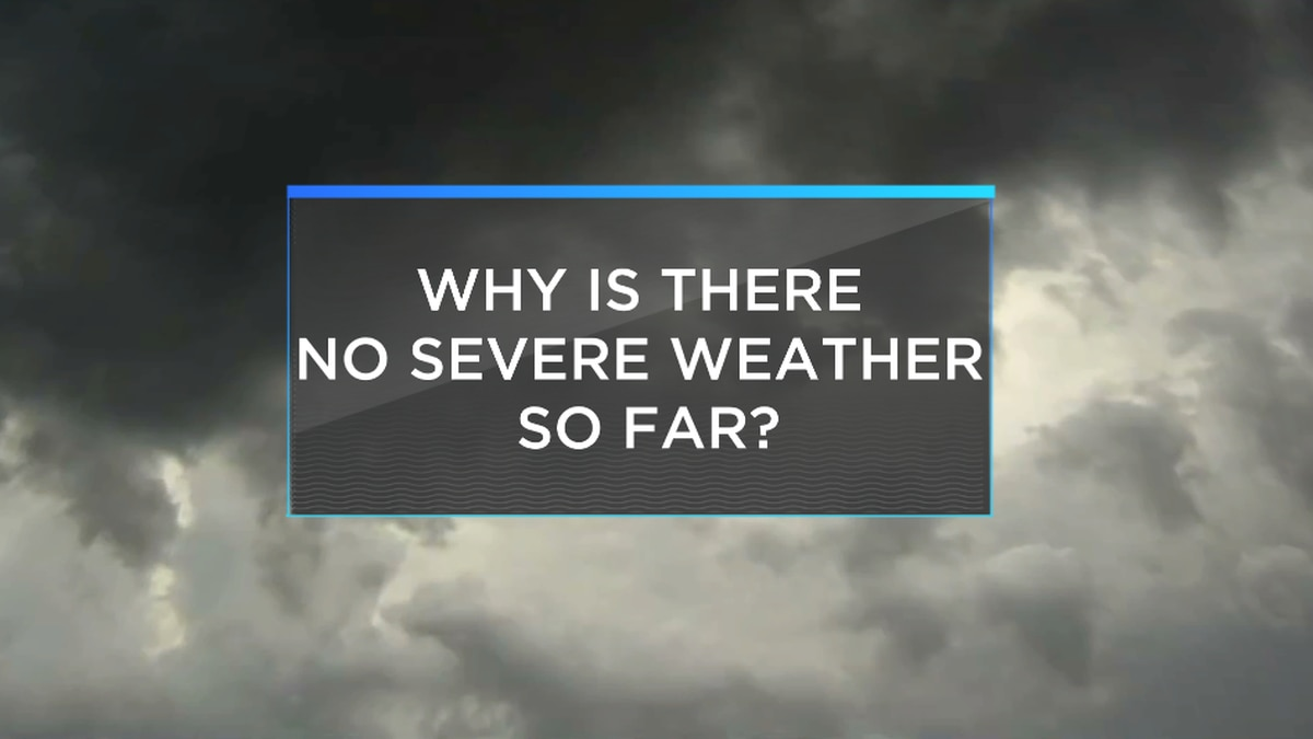 Quiet fall severe weather season. Here's why.