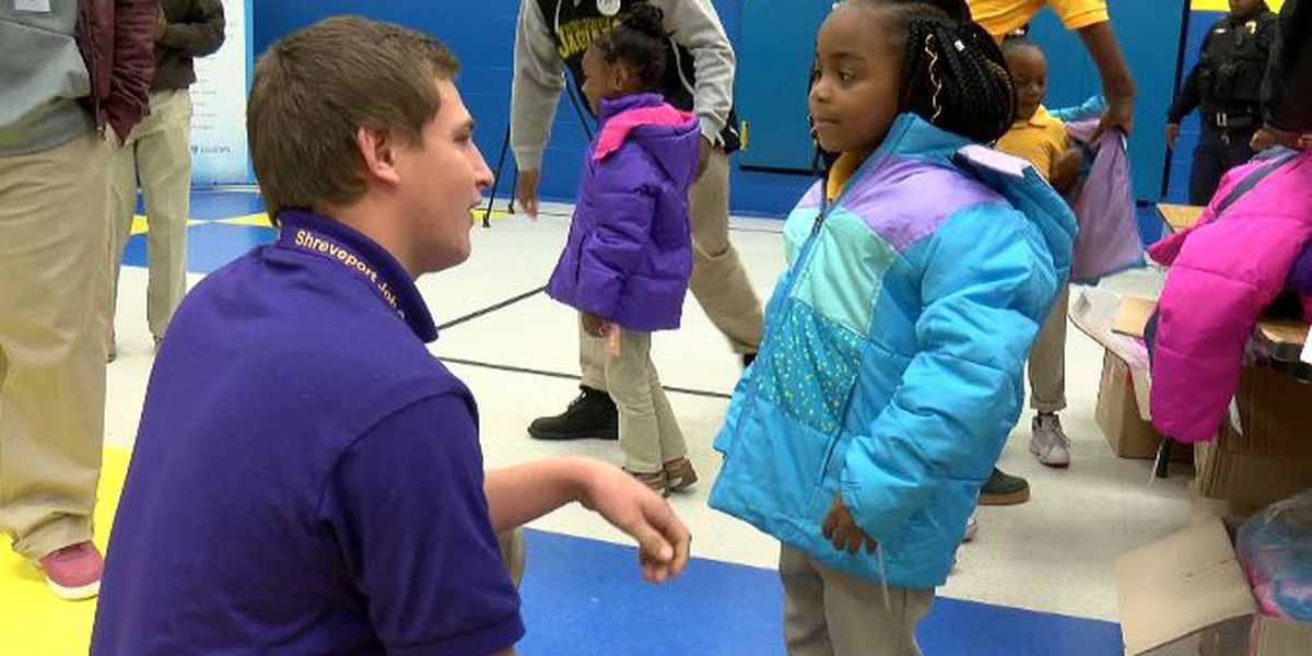 National non-profit provides coats for Queensborough Elementary School