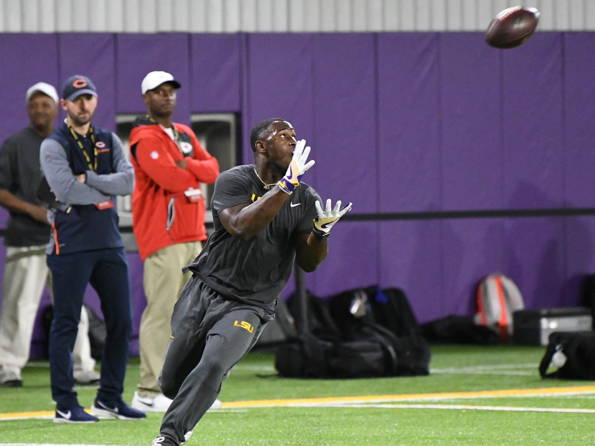 White, Williams, and 10 other former Tigers showcase their talent at LSU Pro Day