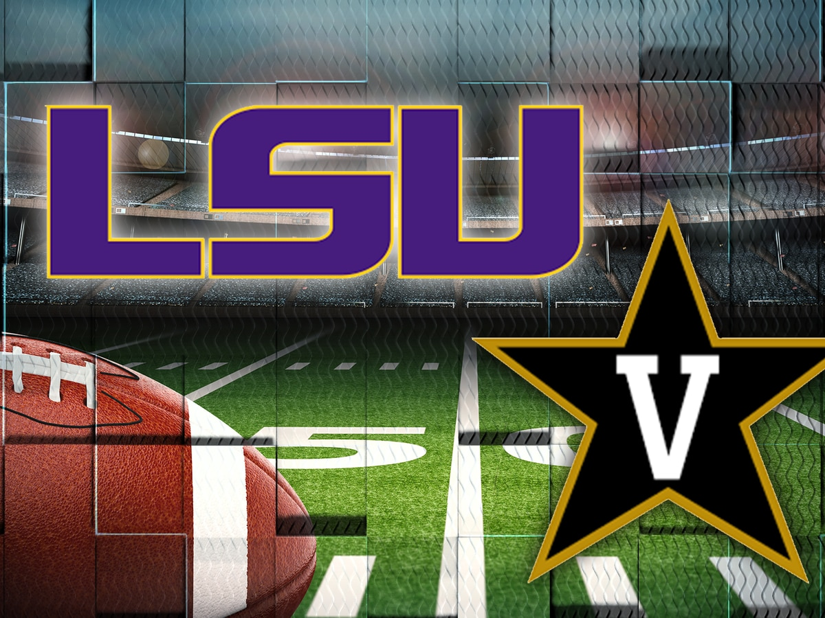 Kickoff set for LSU's road trip to Vanderbilt