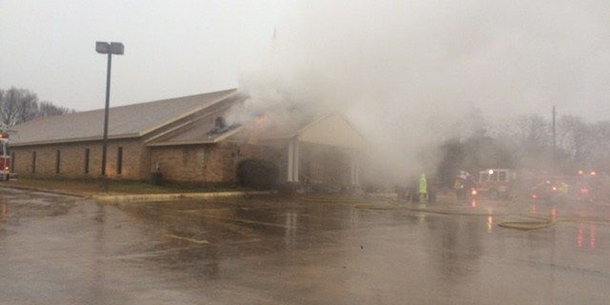 Deacon, wife inside cleaning church when lightning strikes