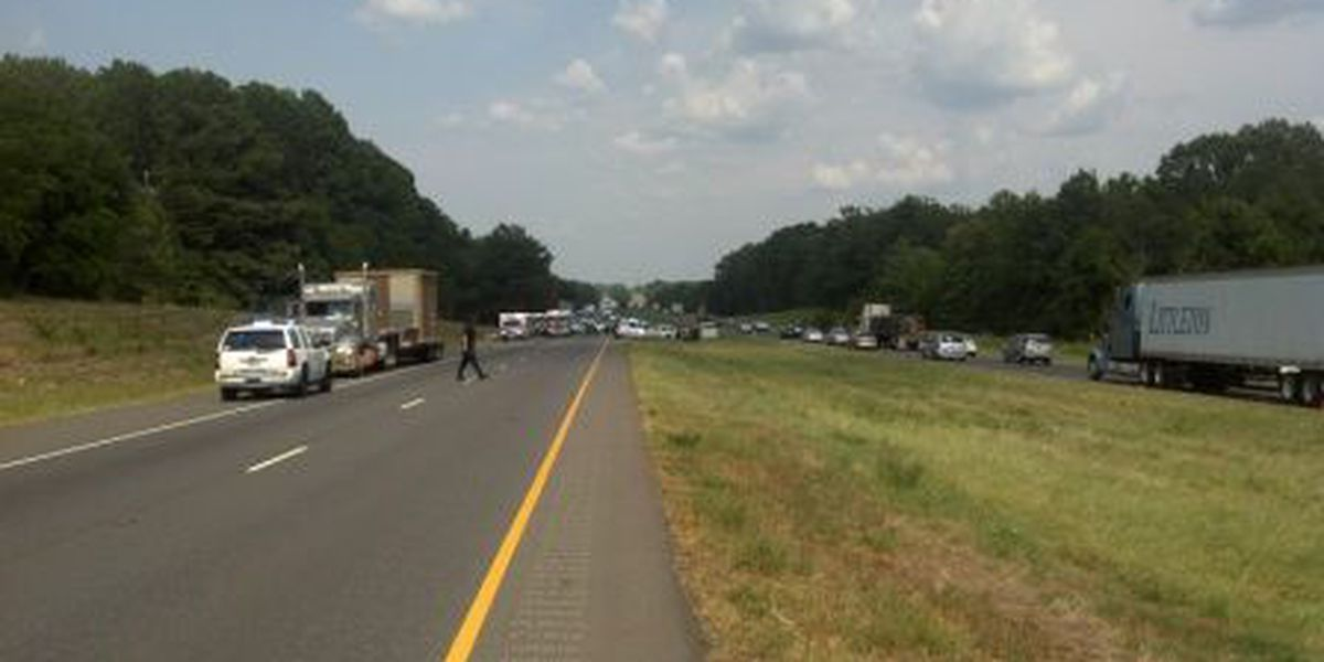 Two teens killed in three-vehicle wreck on I20