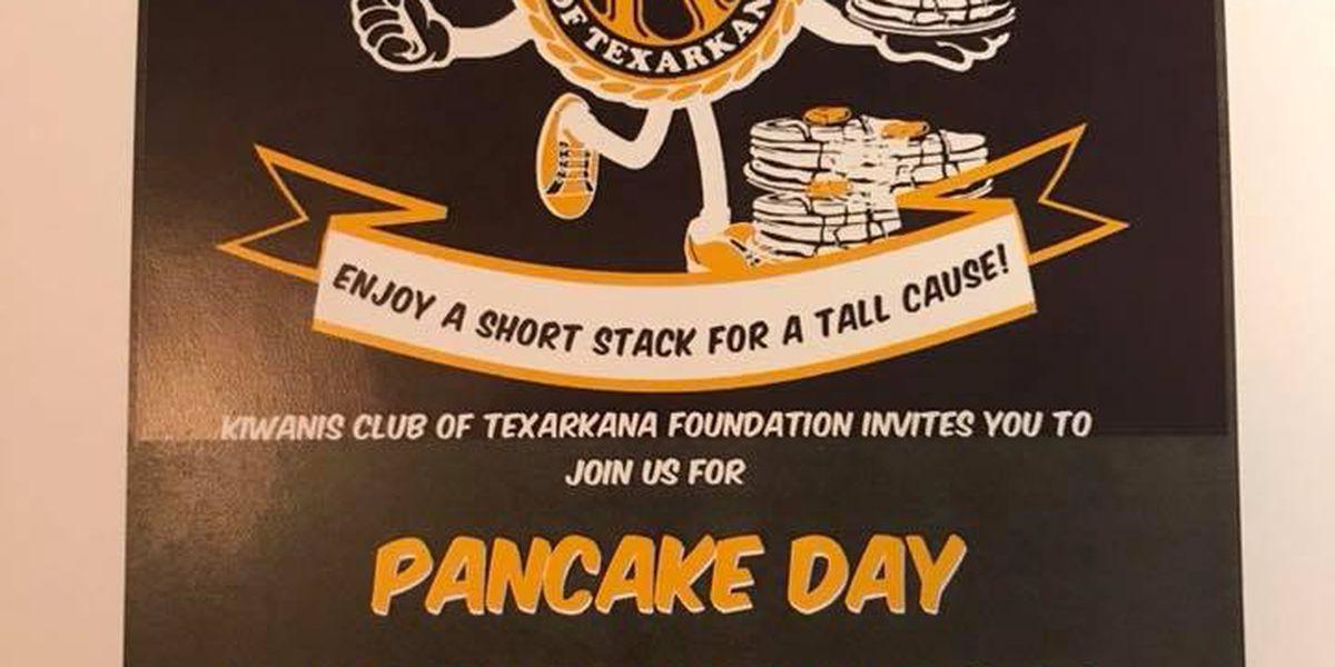 60th annual Texarkana Kiwanis Pancake Breakfast on Saturday